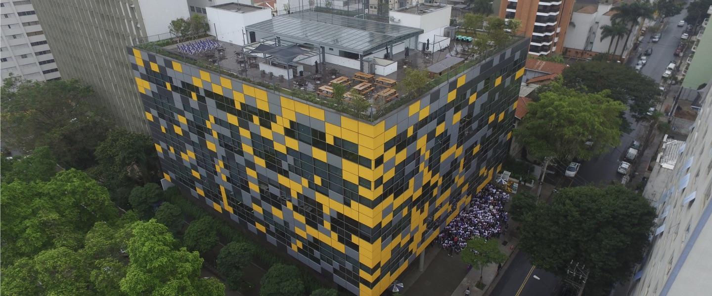 Press release Nubank US$400 mi: foto do prédio do Nubank em São Paulo
