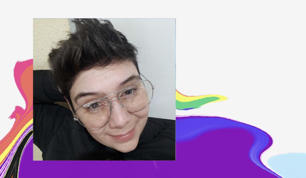 Dia do Orgulho LGBTQIA+: selfie de Shay