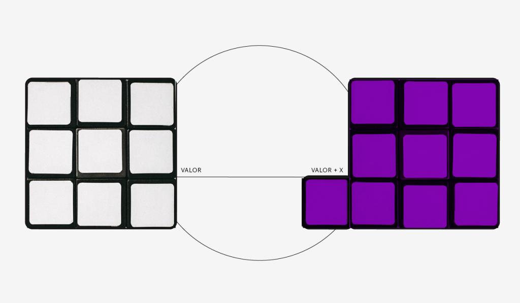 Juros remuneratórios: dois blocos, um na cor branca e um na cor roxa, sendo que o bloco da direita é maior em referência aos juros remuneratórios